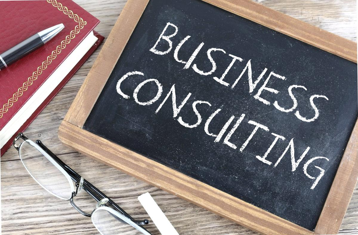 Business Consulting - Free Creative Commons Chalkboard image