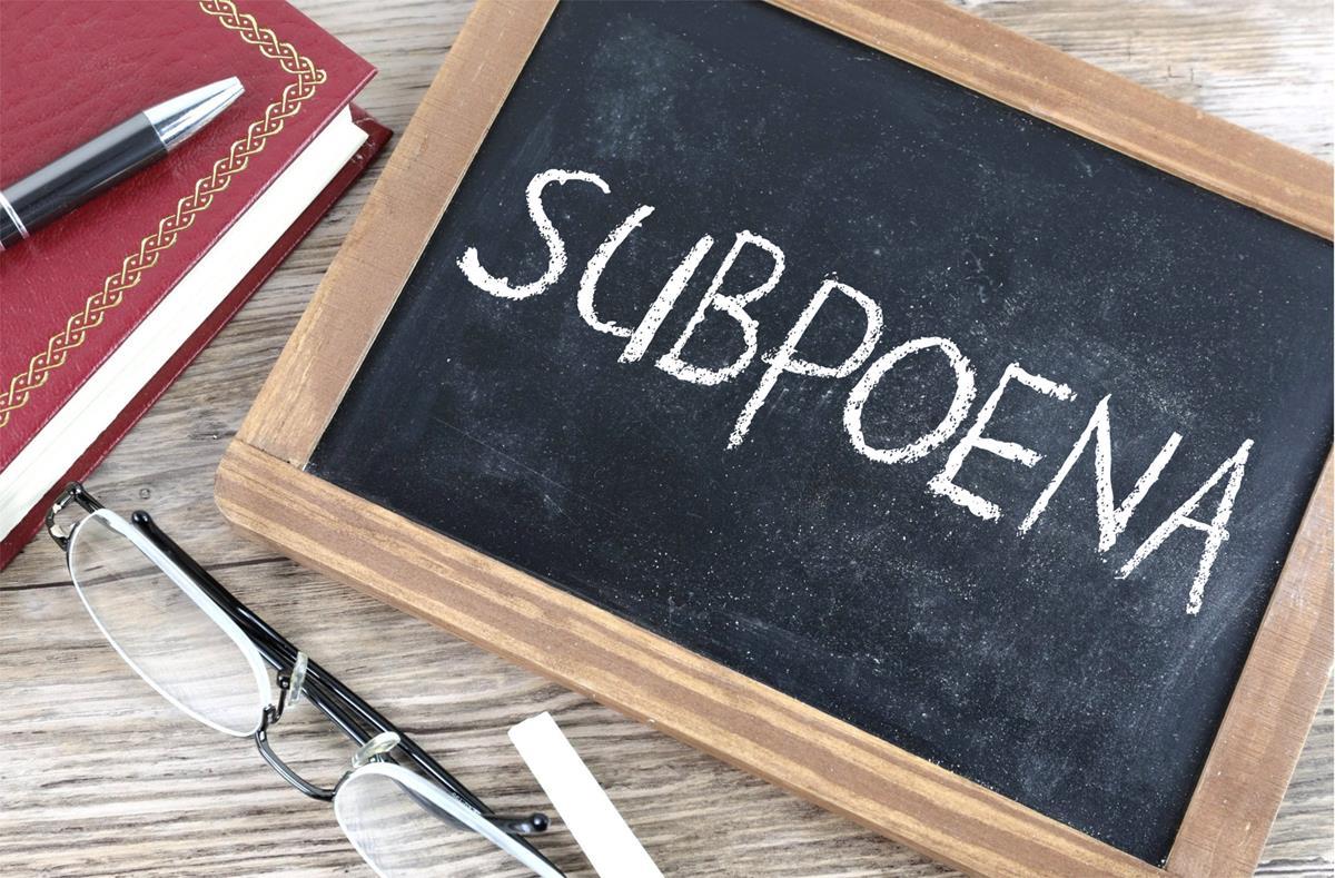 Subpoenasubpoena