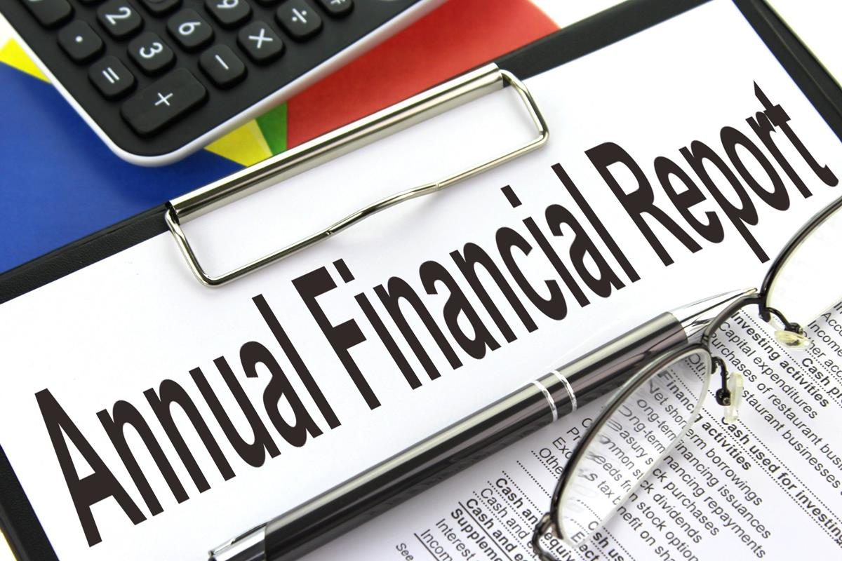 Annual Financial Report - Free Creative Commons Clipboard image