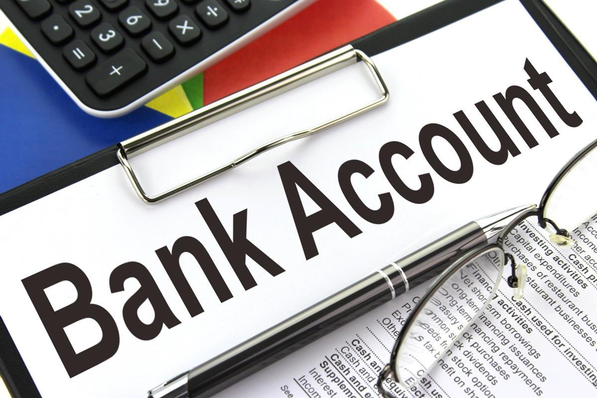 bank account clipboard image