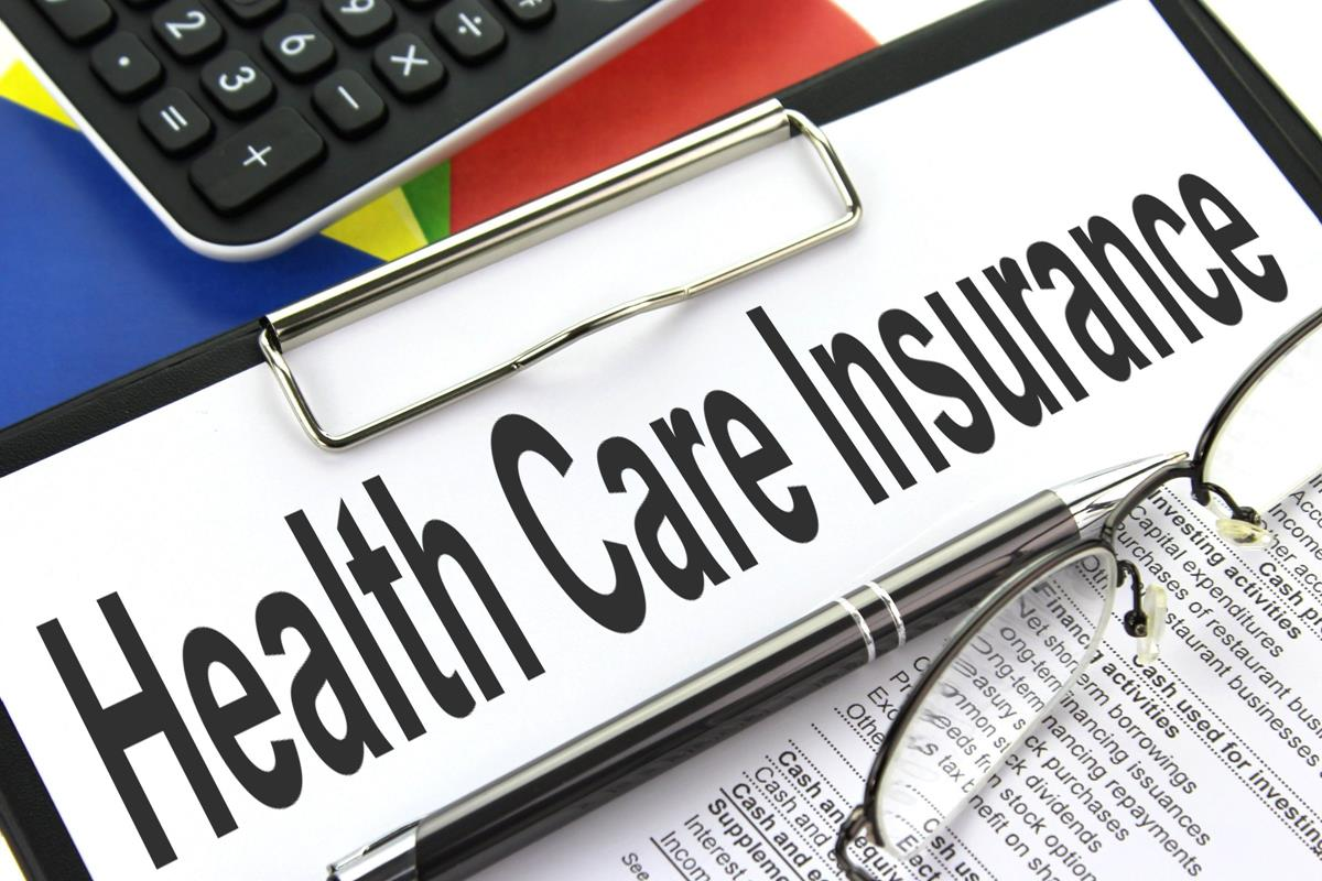 Health Care Insurance Clipboard Image