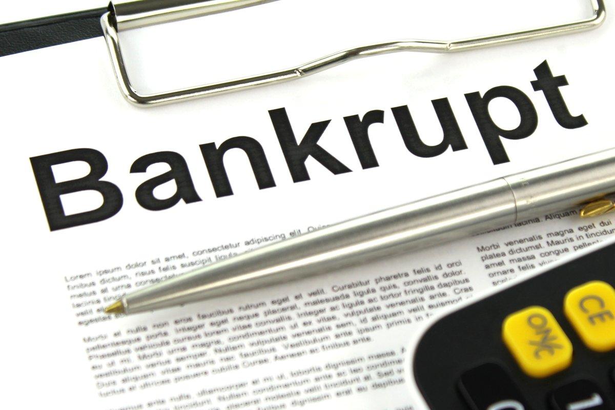 Bankrupt - Finance image