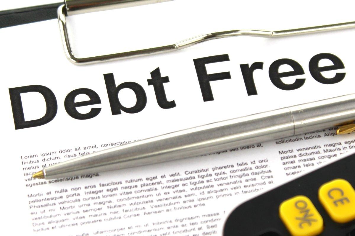 Debt Free - Finance image