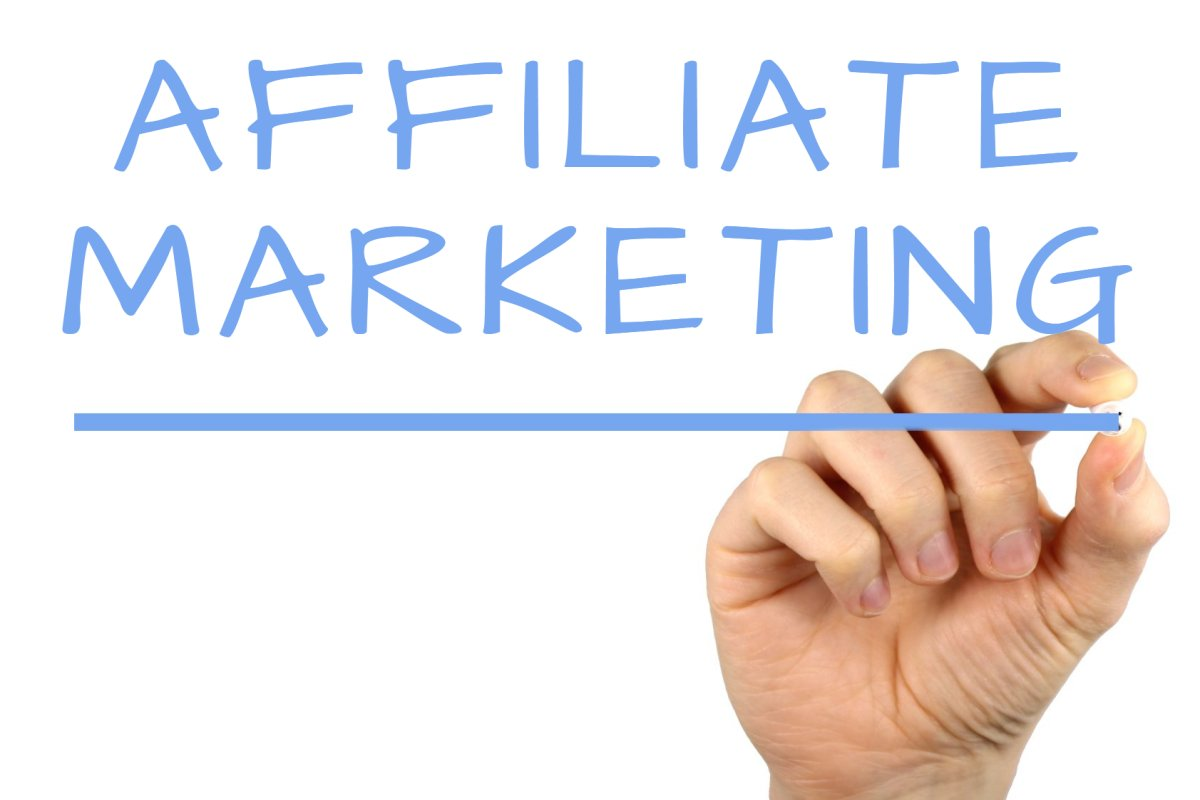 Affiliate Marketing - Handwriting image