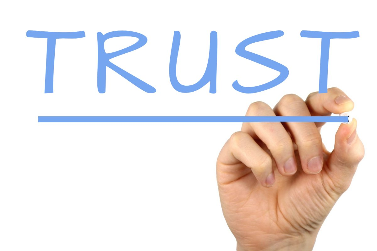 marketing build trust
