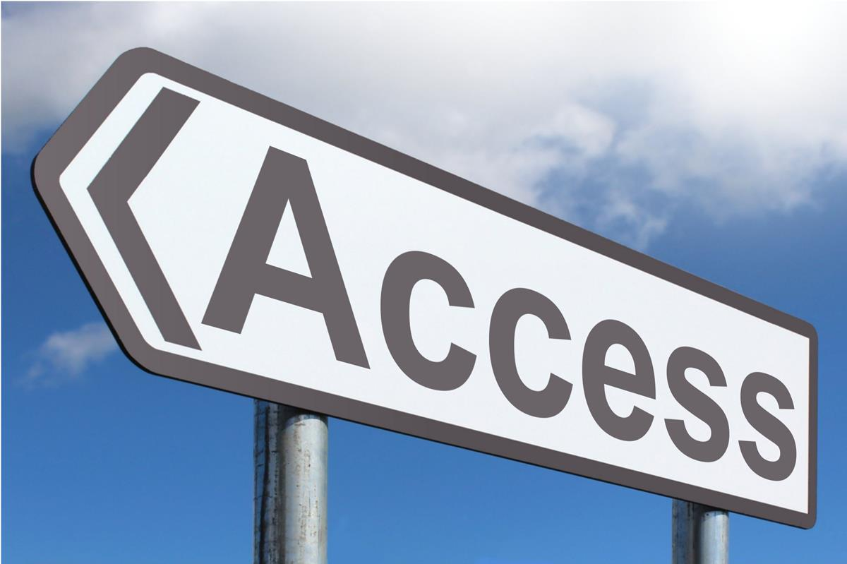 Access - Highway Sign image