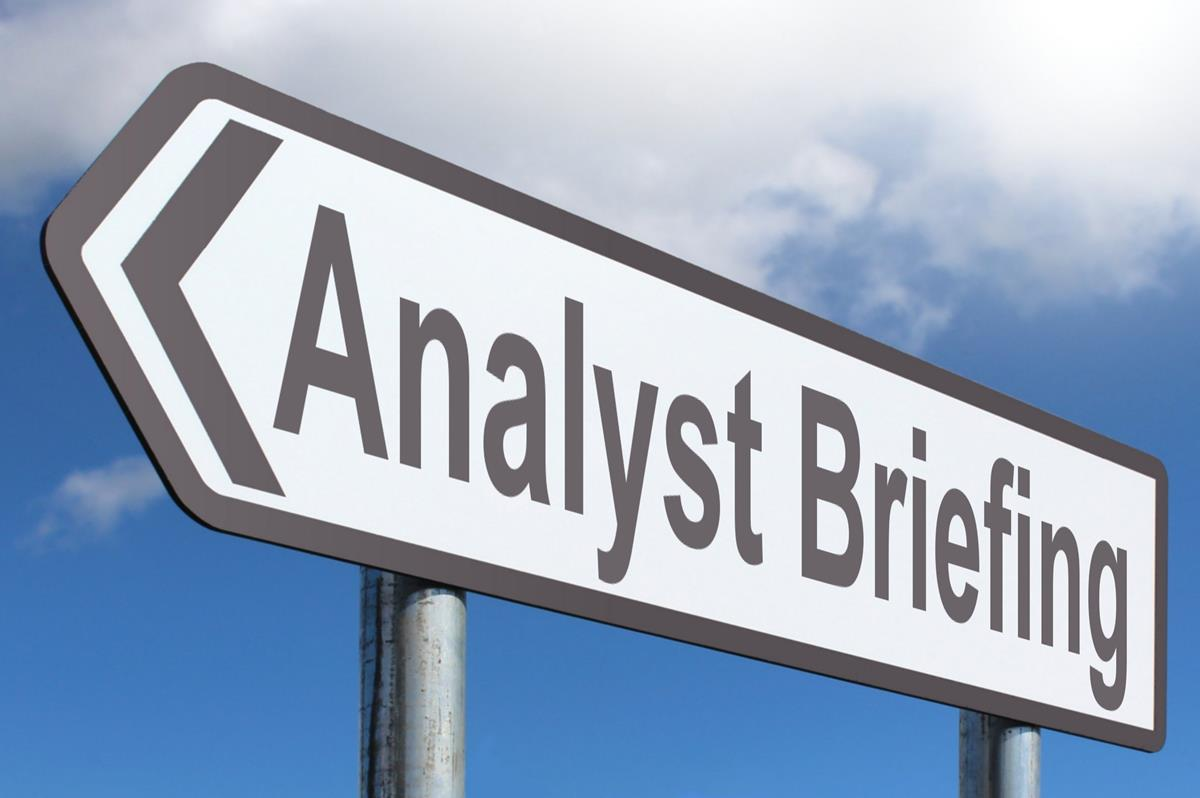 Analyst Briefing
