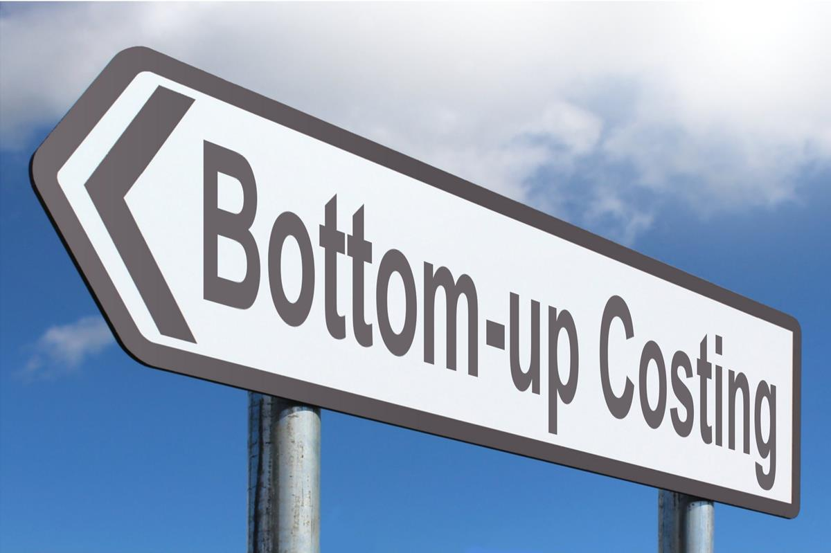 Bottom Up Costing