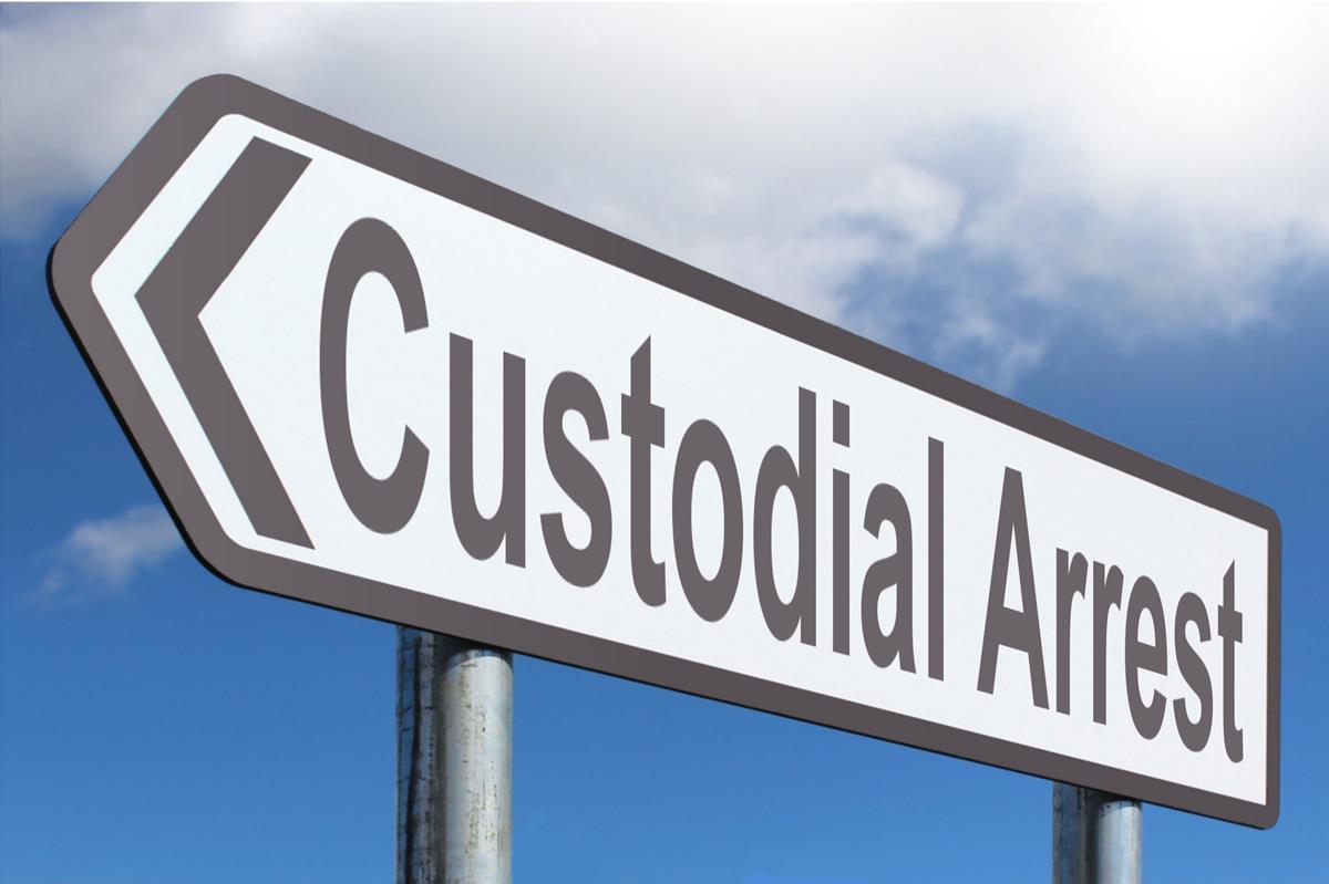 Custodial Arrest