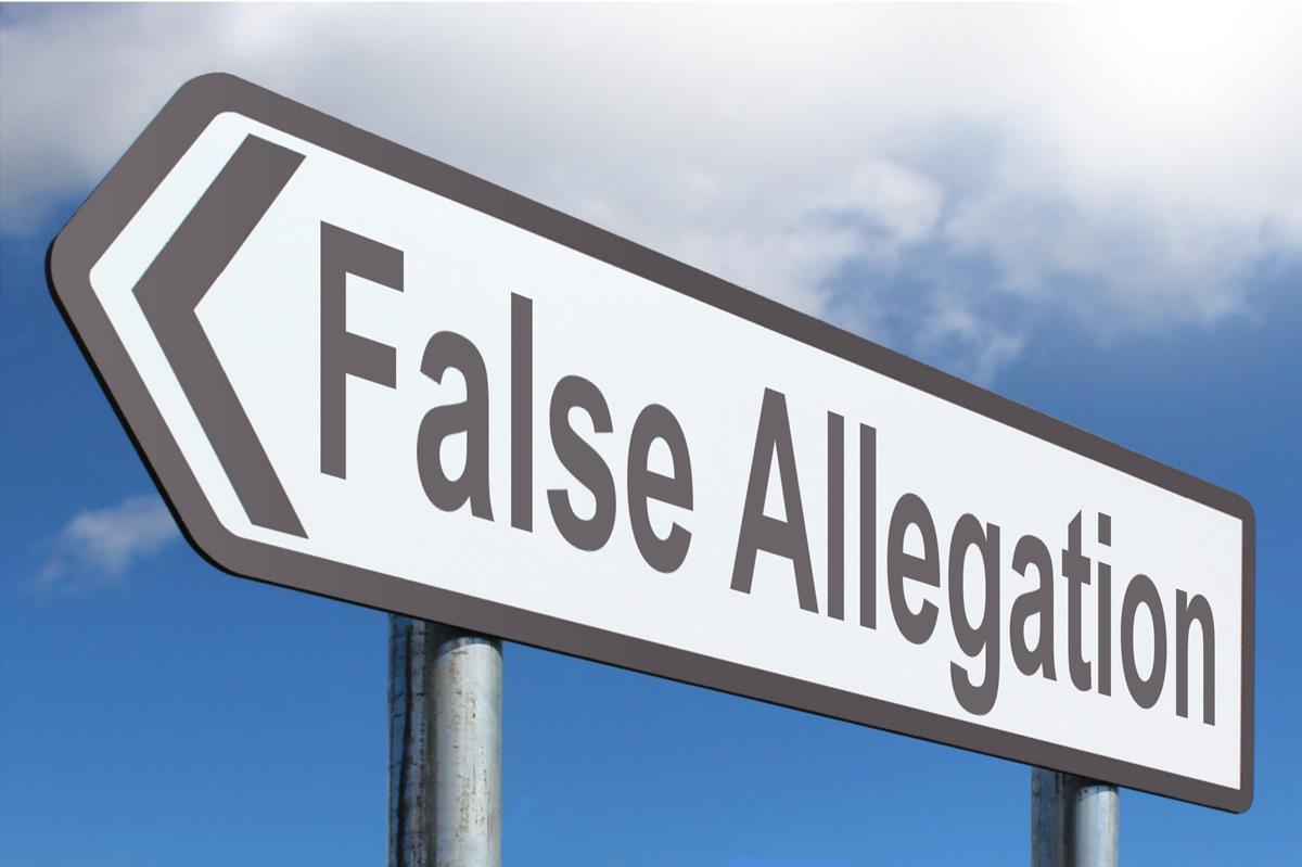 False Allegation