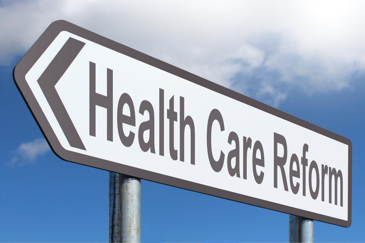 health care reform highway sign image