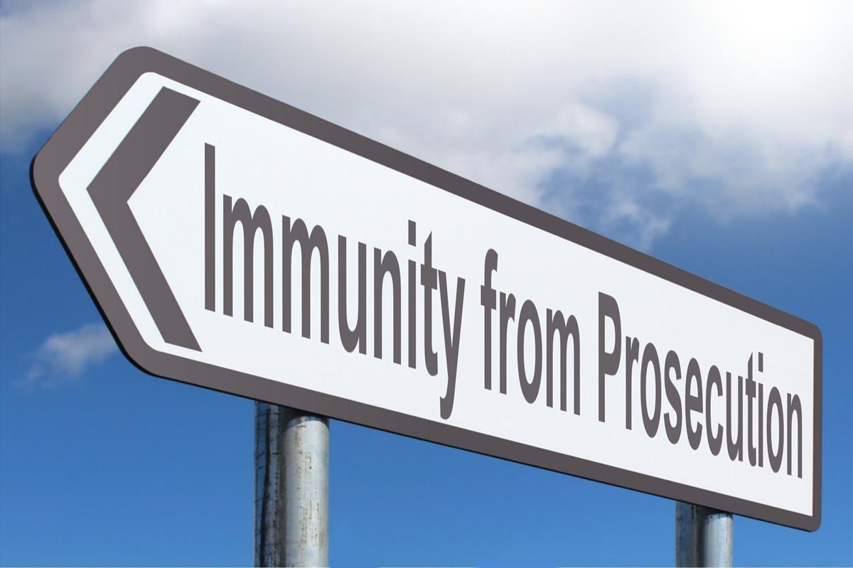 Immunity From Prosecution