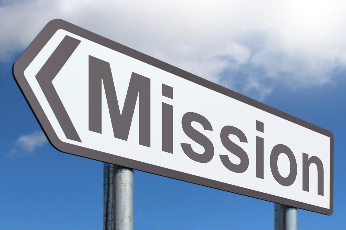 Mission - Highway Sign image