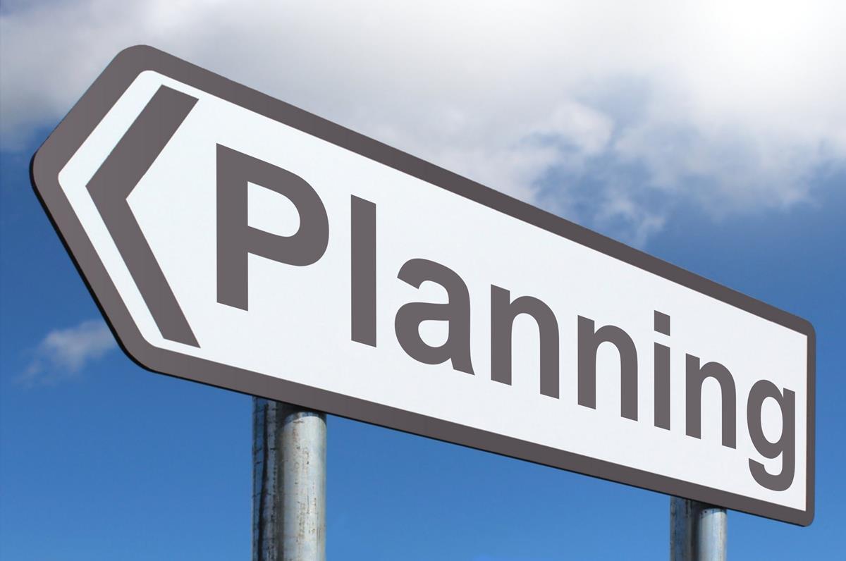 Planning highway sign image for For planner
