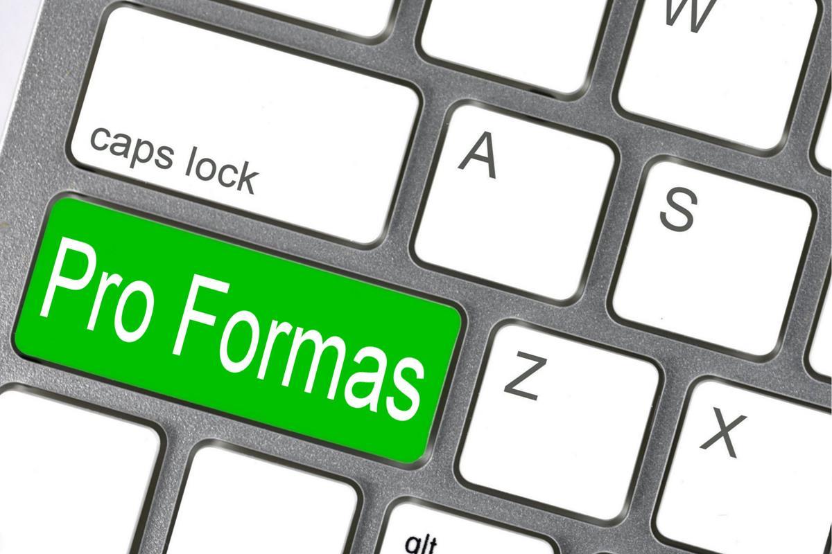 Pro Formas