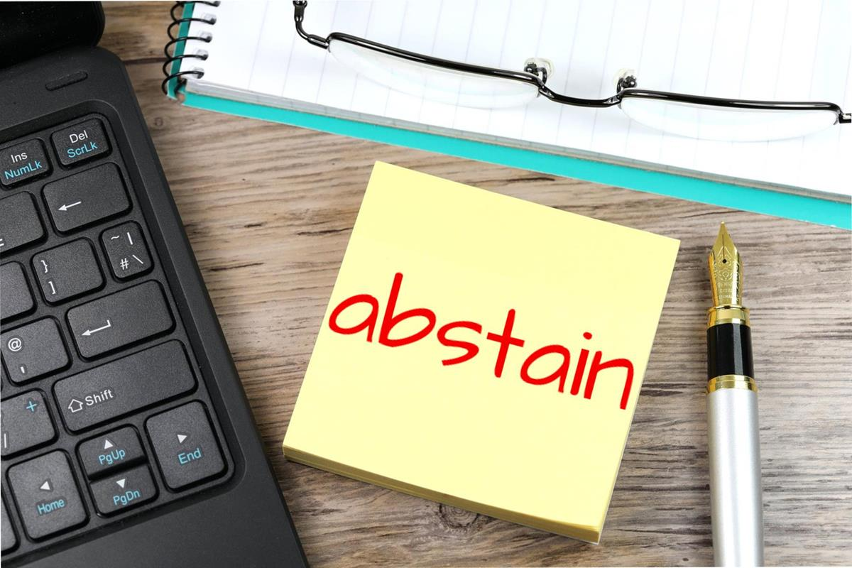 Abstain