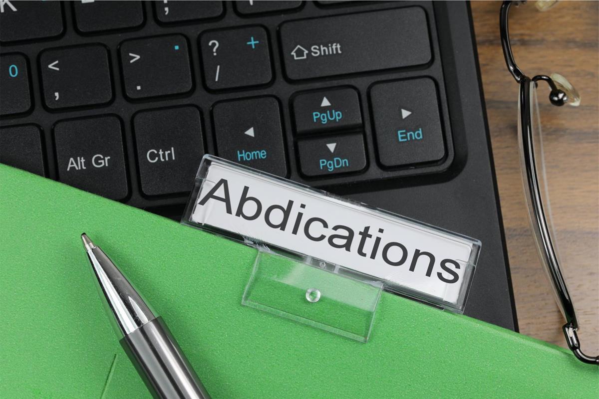 Abdications