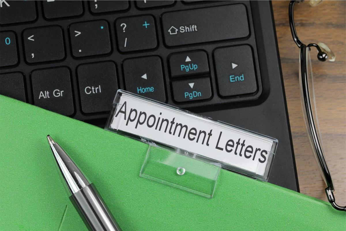 Appointment Aetters