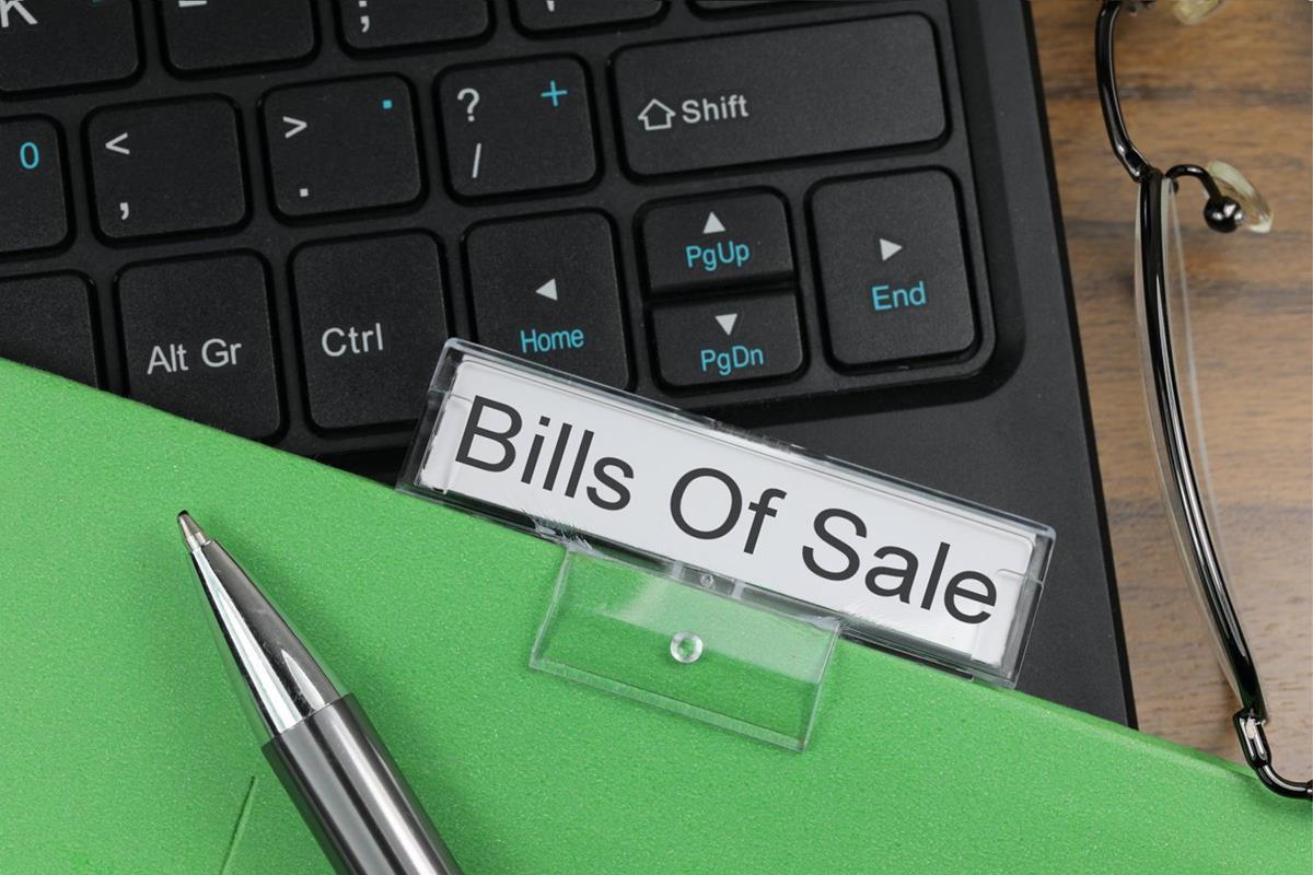 Bills Of Sale