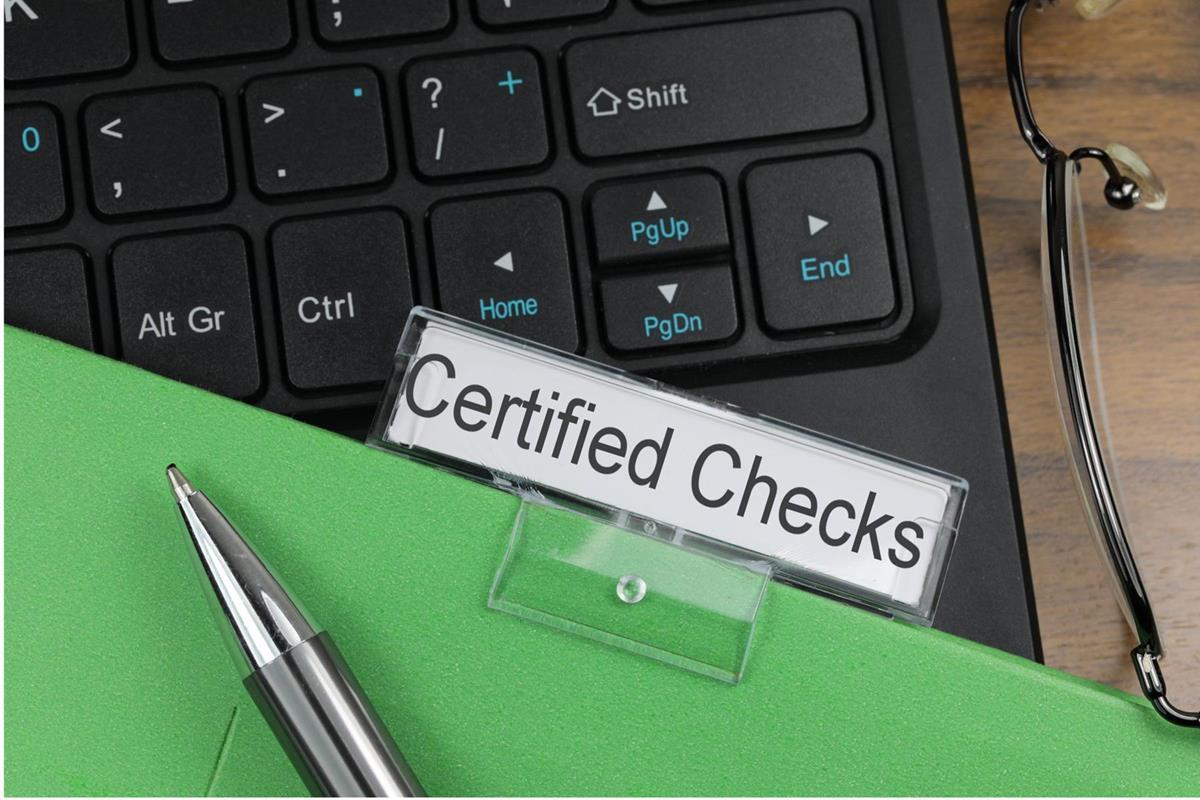 Certified Checks