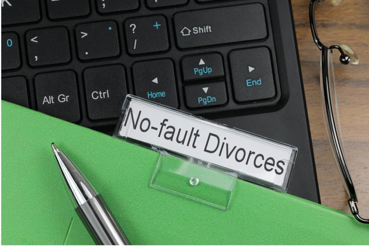 No Fault Divorces